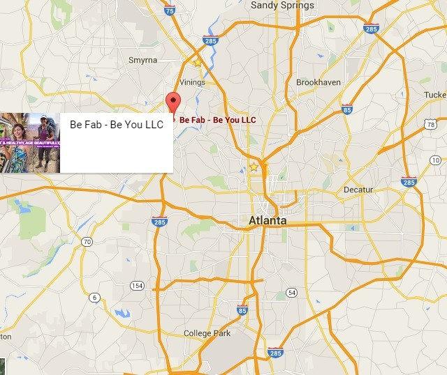 Location Map of Be Fab - Be You LLC