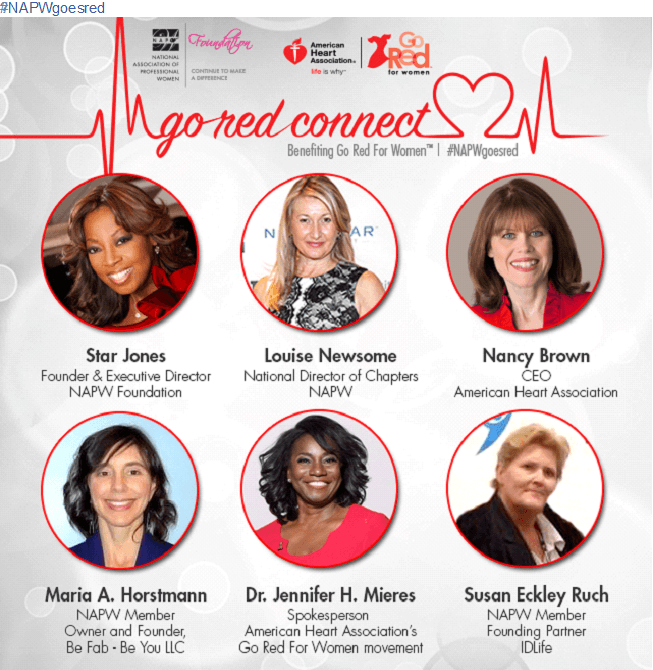 Go Red Connect with NAPW