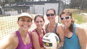 doubles sand volleyball