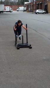 Prowler / Sled Push