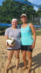 Coaching Yasmin Sand Volleyball