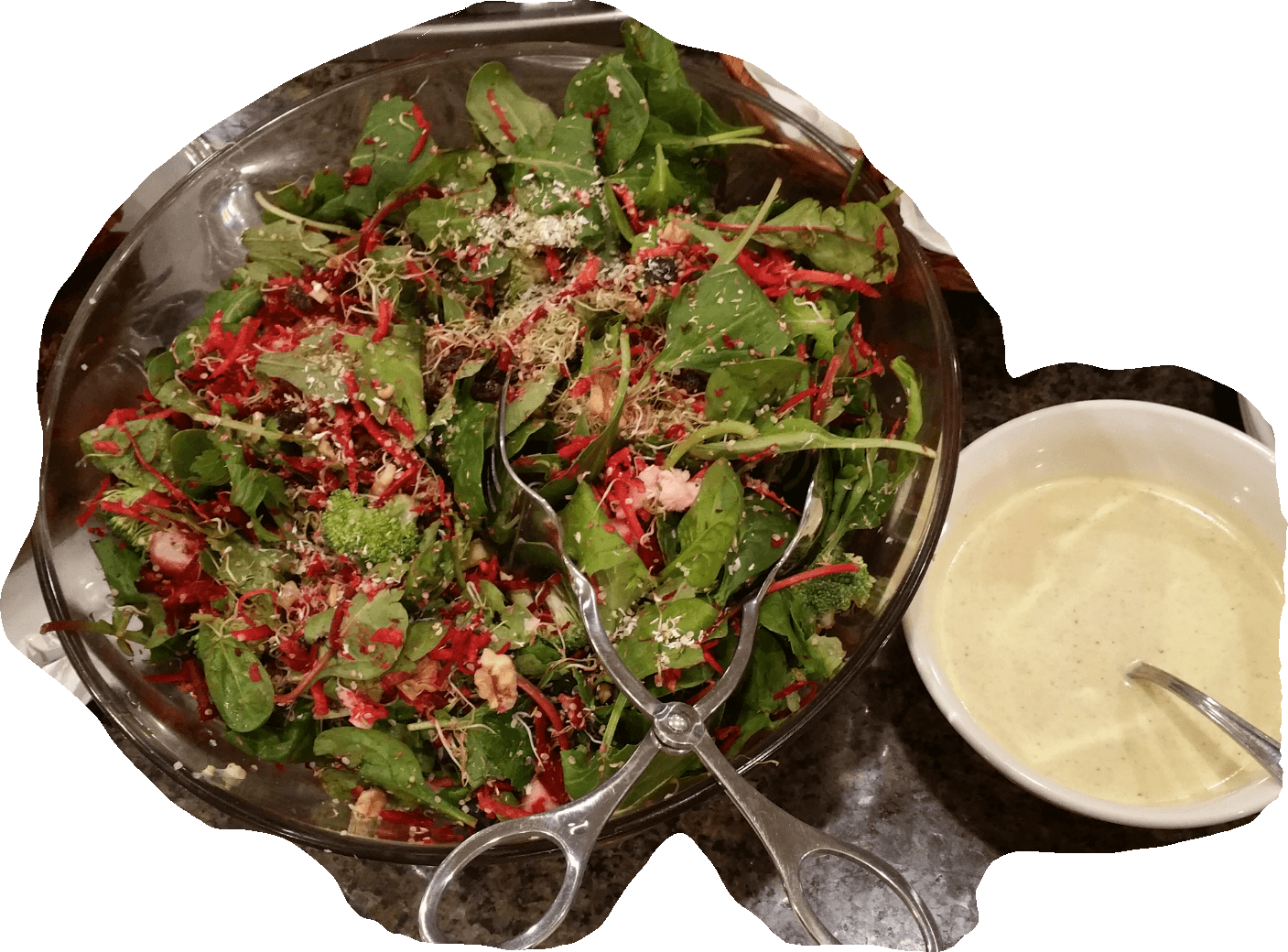 Salad Loaded With Nutrition