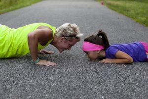 push-ups-woman-child