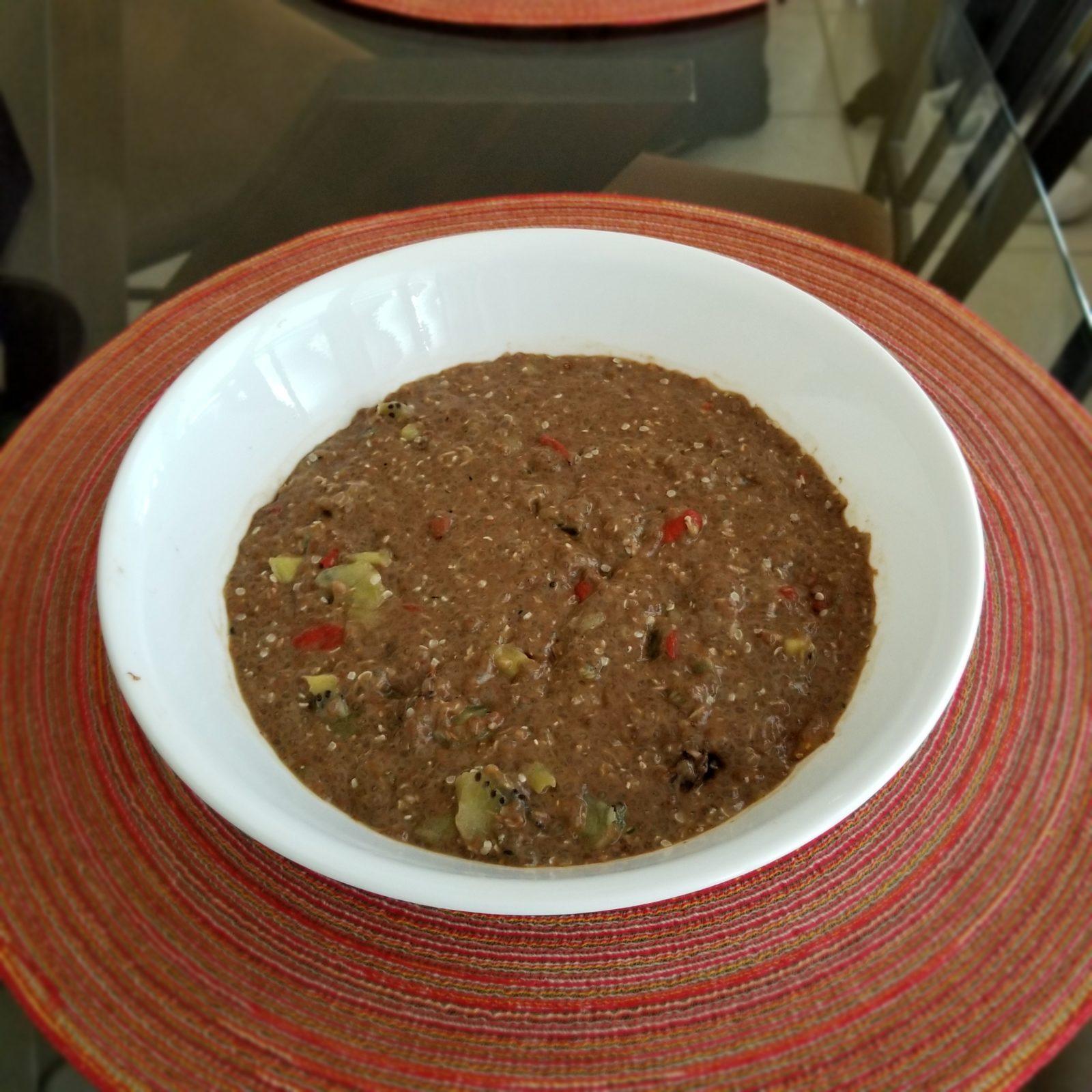 Coconut Chia Porridge Maria Horstmann