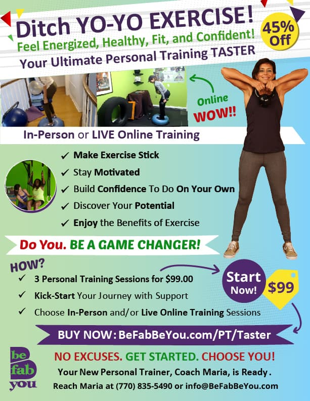 Stop The Yo-Yo Diet and Exercise. Get Accountability, Motivation, and Expertise. All in One Coach and Trainer