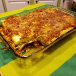 Meat Sauce, Gluten-Dairy Free Lasagna