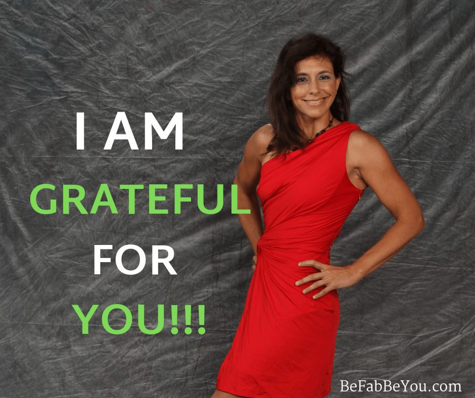 I am Grateful for you | Be Fab - Be You | Maria Horstmann