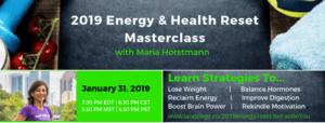 Energy Health Reset Masterclass - Weight Loss - Fatigue - Physical Mental Strength - Health Fitness Coach BeFabBeYou.com