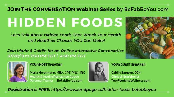 FREE Webinar-Nutrition-Hidden-Foods-Healthier-choices-Health-Fitness-Trainer-Atlanta-Online