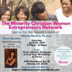 Minority Christian Women Entrepreneurs-Speaker-Maria-Horstmann-Coach-Trainer
