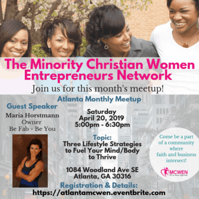 Minority Christian Women Entrepreneurs-Speaker-Maria-Horstmann-Coach-Trainer