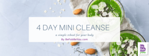 FREE 4-DAY MINI CLEANSE