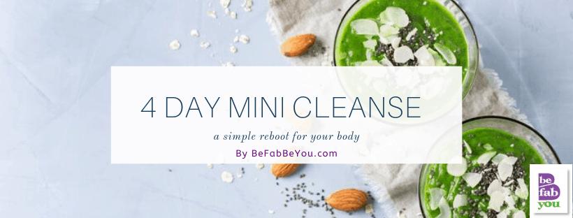 FREE 4-DAY MINI CLEANSE