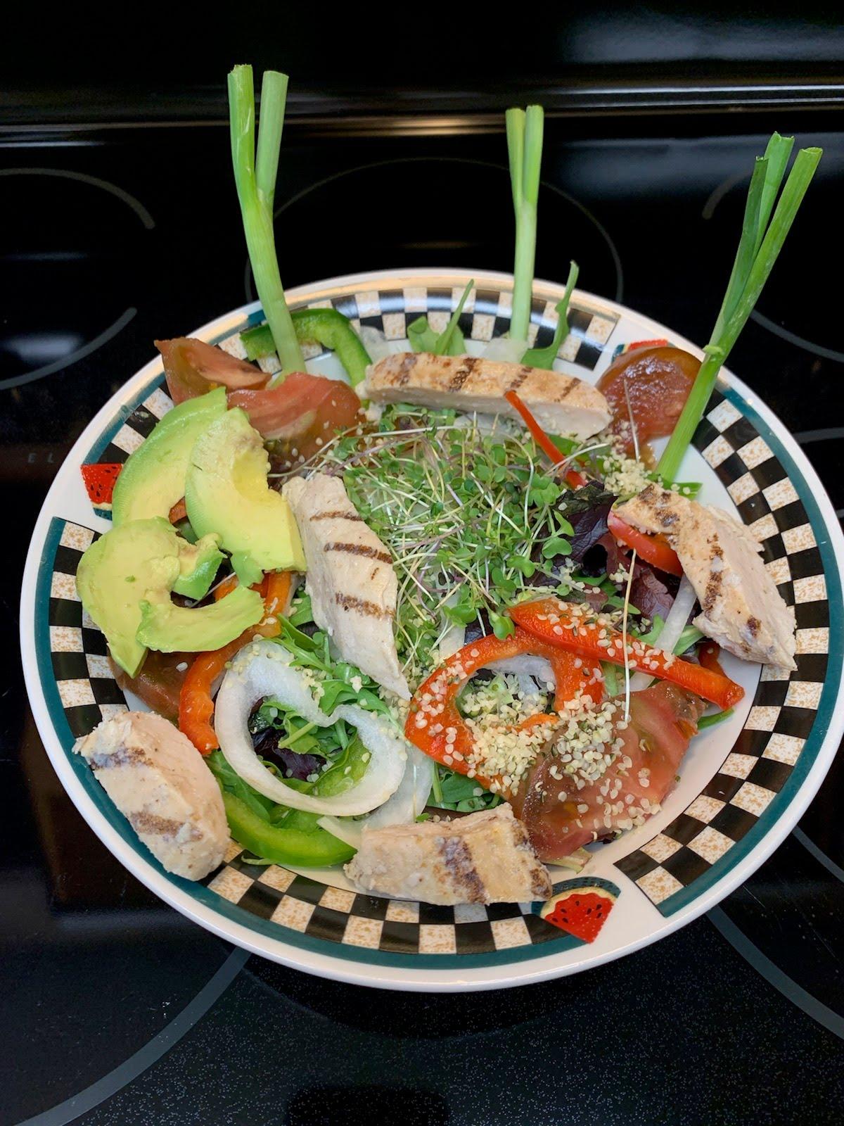 Balanced Salad for Blood Sugar Control - Maria Horstmann - Be Fab - Be You